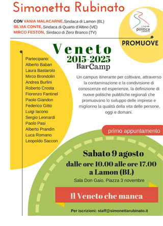 Veneto Bar Camp